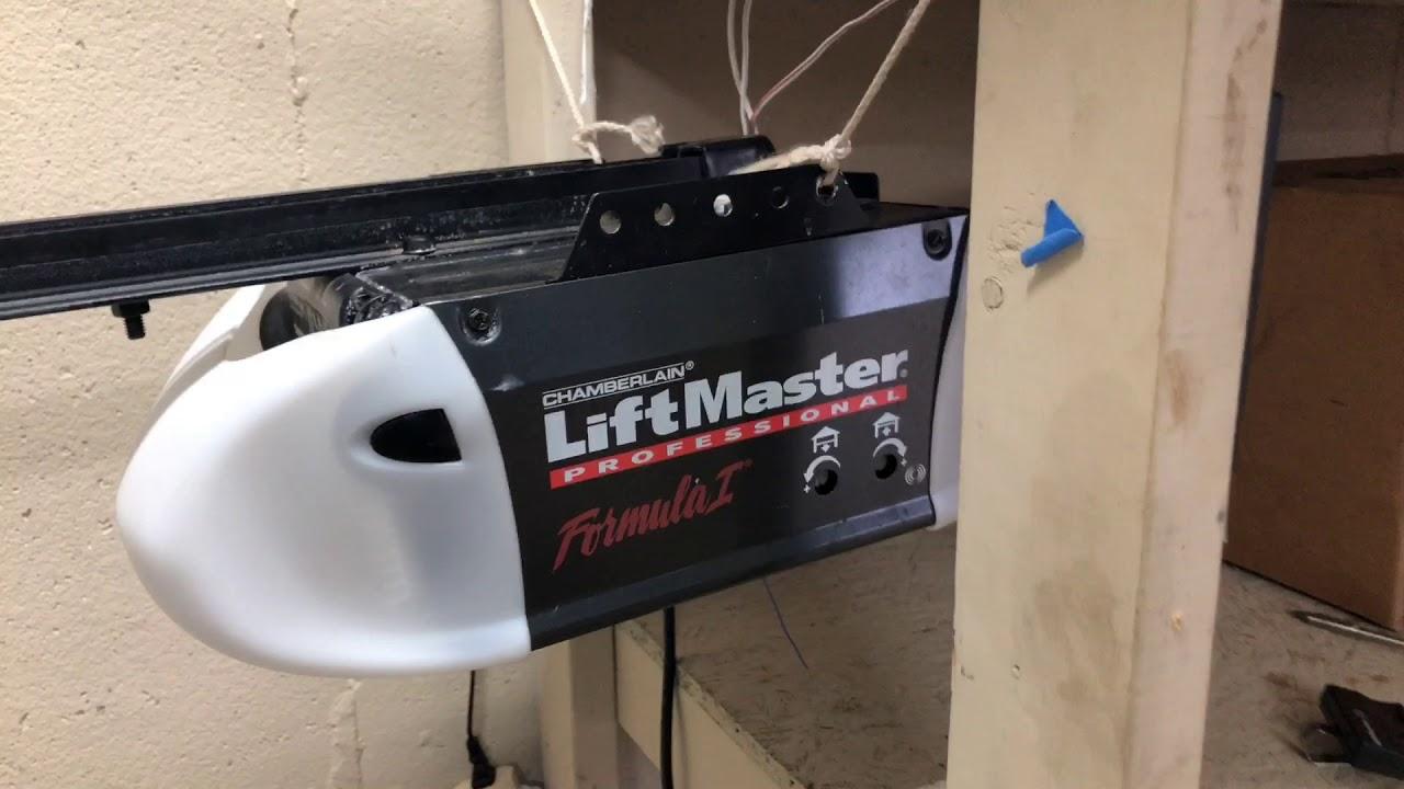 Liftmaster Formula 1 Garage Door Opener Dandk Organizer