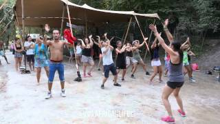 Dancehall Workshop, Overjam Festival 2015, Tolmin