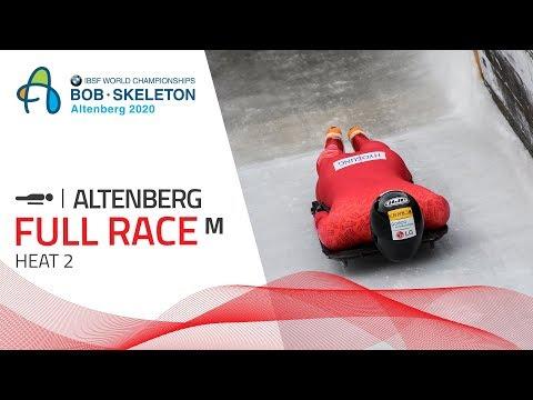 Altenberg | BMW IBSF World Championships 2020 - Men's Skeleton Heat 2 | IBSF Official