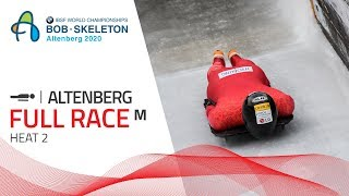 Altenberg | BMW IBSF World Championships 2020 - Men's Skeleton Heat 2 | IBSF Official