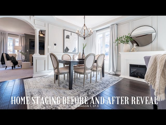 Home Staging Before and After | Vlog, Season 1 Ep. 3