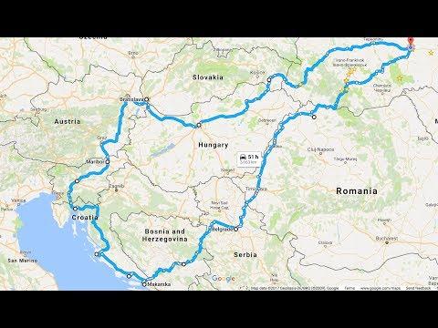 видео: В Європу на автомобілі з палатками. eurotrip 2016