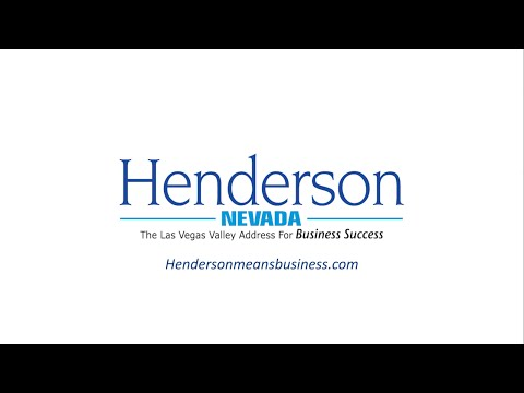Henderson, Nevada - The Las Vegas Valley Address for Business Success