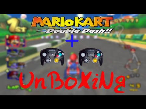 MkDd Gameplay+Gamecube Controller Unboxing