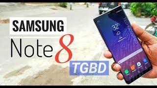 Samsung Galaxy Note 8 hands on review Bangla techgossipbd | Bangladesh