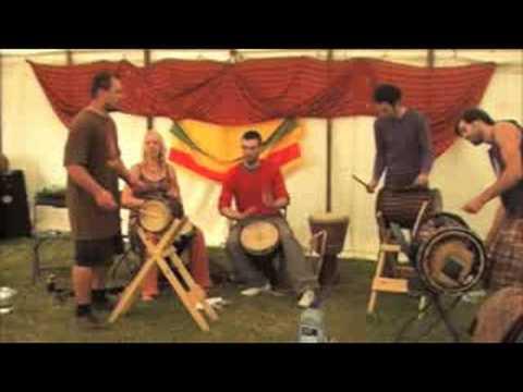 Drum Camp 08 - Djembe/Djun Djun - Hans Sutton & St...