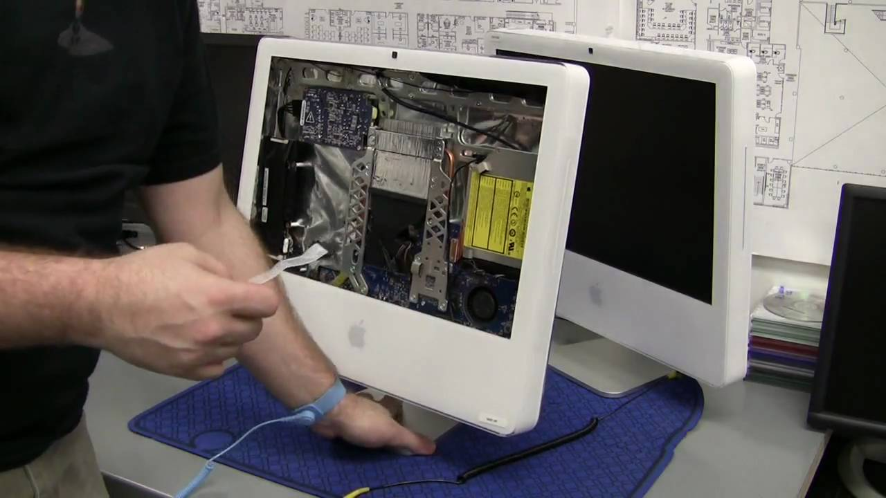 how totake apart an imac part 1 remove front panel youtube rh youtube com