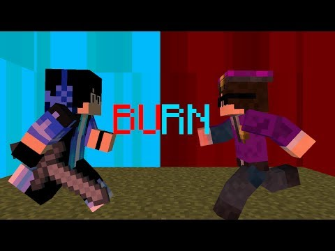 Ellie Goulding - Burn (A Minecraft Bully Story Music Video 4)