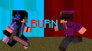 ♪ Burn - (Heroes Series Minecraft Animation Music Video #4) ♪