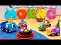 Развивающие мультики для малышей Машинки Мокас - Сборник 2