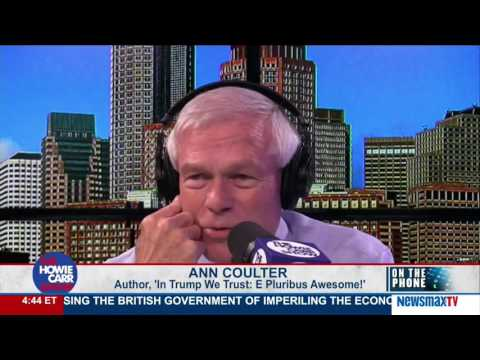 The Howie Carr Show | Ann Coulter on the relentless attacks on Donald Trump