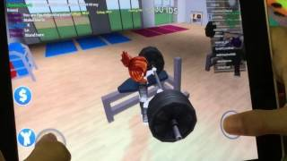 Playing ROBLOX fitness center| Ahmed's corner