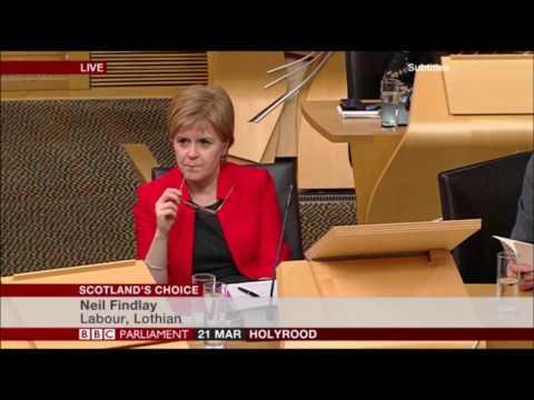 Neil Findlay MSP shames every single SNP MSP into silence.