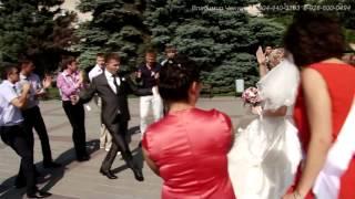 Свадьба Азов Пётр+Дарья  под песню Walking in the rain