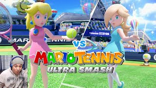 BABY GIRLS TIME!! [MARIO TENNIS: ULTRA SMASH] [#02]
