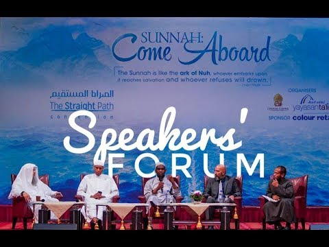 The speakers' forum TSP 2018 Day 2