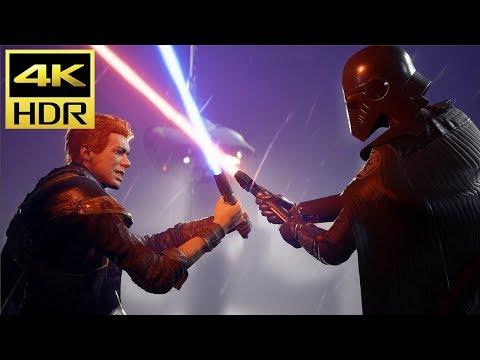 Star Wars Jedi: FALLEN ORDER (PS4 Pro) 4K HDR Gameplay @ ᵁᴴᴰ ✔