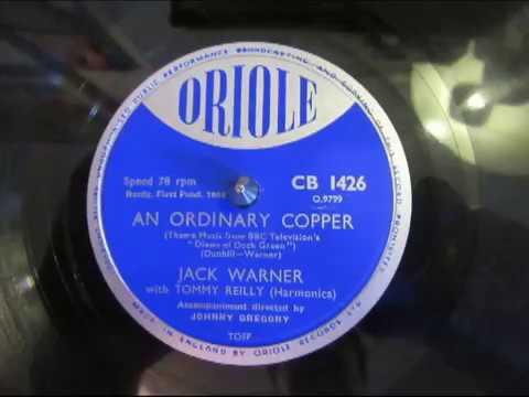 An Ordinary Copper - Jack Warner - Dixon of Dock Green Theme Song - 78 rpm - Numark TTX