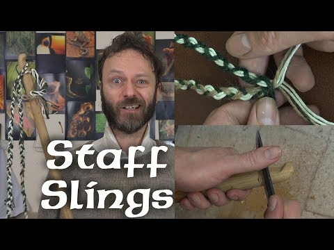 How to make a staff-sling - in possibly too much detail