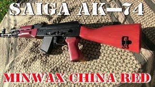 Minwax China Red On My Saiga Ak-74 Furniture