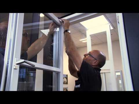 How to seperate sash from frame on Rationel ALDUS/DOMUS Sidehung windows