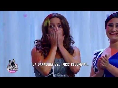 Concurso de Miss Universo al estilo de El Muro - Morandé con Compañía