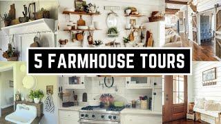 5 Farmhouse Home Tours 2021