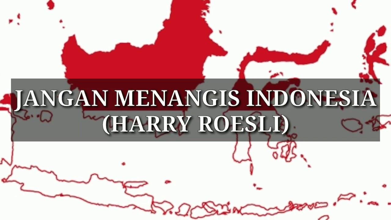 JANGAN MENANGIS INDONESIA (HARRY ROESLI}