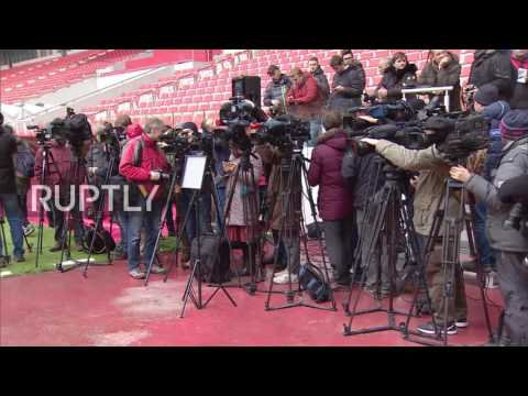 Russia: FIFA inspect Moscow's Spartak Stadium in build up to Confederations Cup