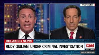 CNN - Raskin Discusses Giuliani, Fiona Hill After Today's Deposition