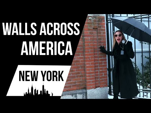 Chuck and Kelly - Walls Across America Visits Politicians Living Behind Walls in New York