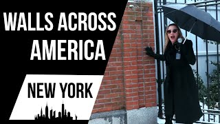 The Clintons Live Behind A Big WALL   Walls Across America New York Edition
