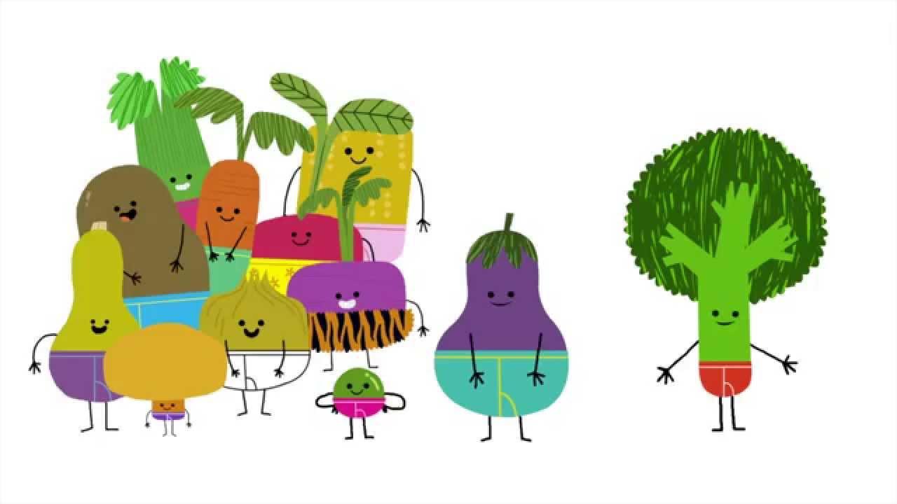 Vegetables In Underwear By Jared Chapman