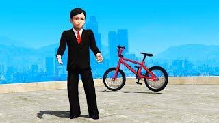 Playing GTA 5 As A KID
