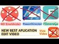 NEW!!! aplikasi edit video| selain apk Kinemaster, power director, viva video dan lainnya