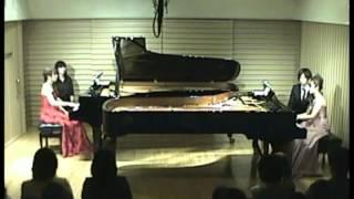 絶版となった貴重な連弾版を2台ピアノにアレンジ。 石崎諭子・神作名帆...