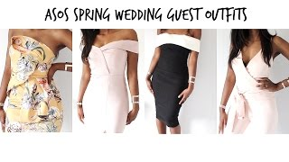 ASOS HAUL! Spring Summer Wedding Guest Outfit Lookbook   Style With Substance