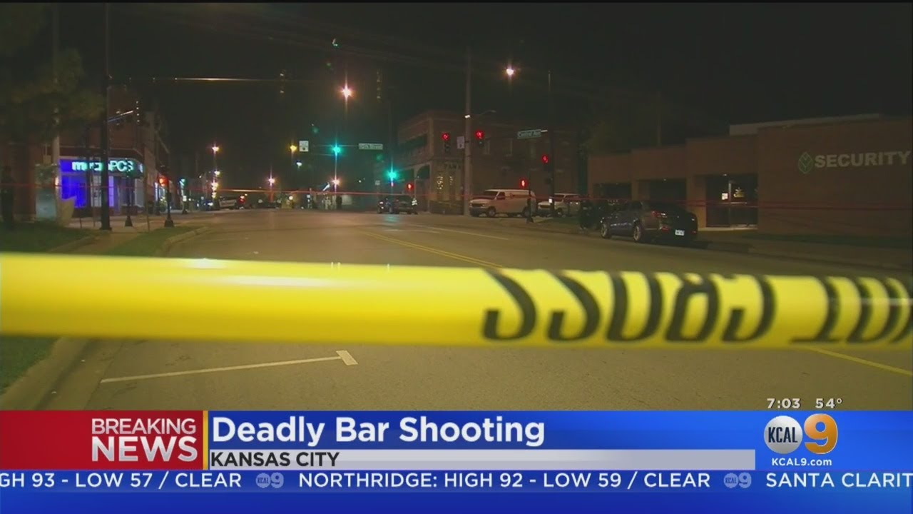 4 Killed, 5 Others Wounded In Shooting At Kansas City Bar