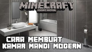 Download Video Cara Membuat Kamar Mandi Modern Di Minecraft PE MP3 3GP MP4