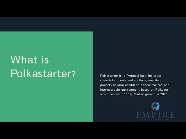 How to launch an IDO on Polkastarter