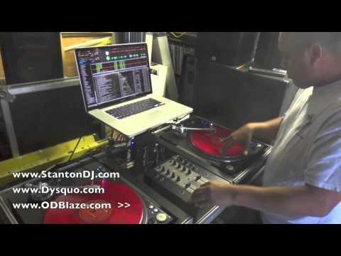 Stanton M.203 Mixer Demo by - DJ OD Blaze & Dysquo