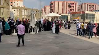 سيدات الأسمرات يشاركن في انتخابات مجلس الشيوخ (فيديو)