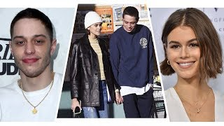 Pete Davidson And Kaia Gerber Were And39very Affectionateand39 At And39snland39 After Party Exclusive