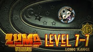 Zuma Deluxe (PC) - Popo Poyolli - Level 7-7 - Long Range Gameplay