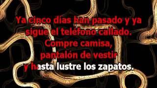 Amor Clasificado - Rodrigo (con letra Karaoke)