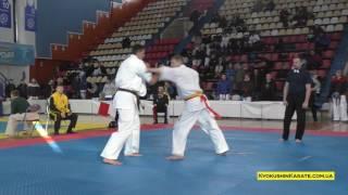 Ukrainian Championship 2017, 1/4 +85 Krivko Alexander (aka) - Andrey Kasyanchuk
