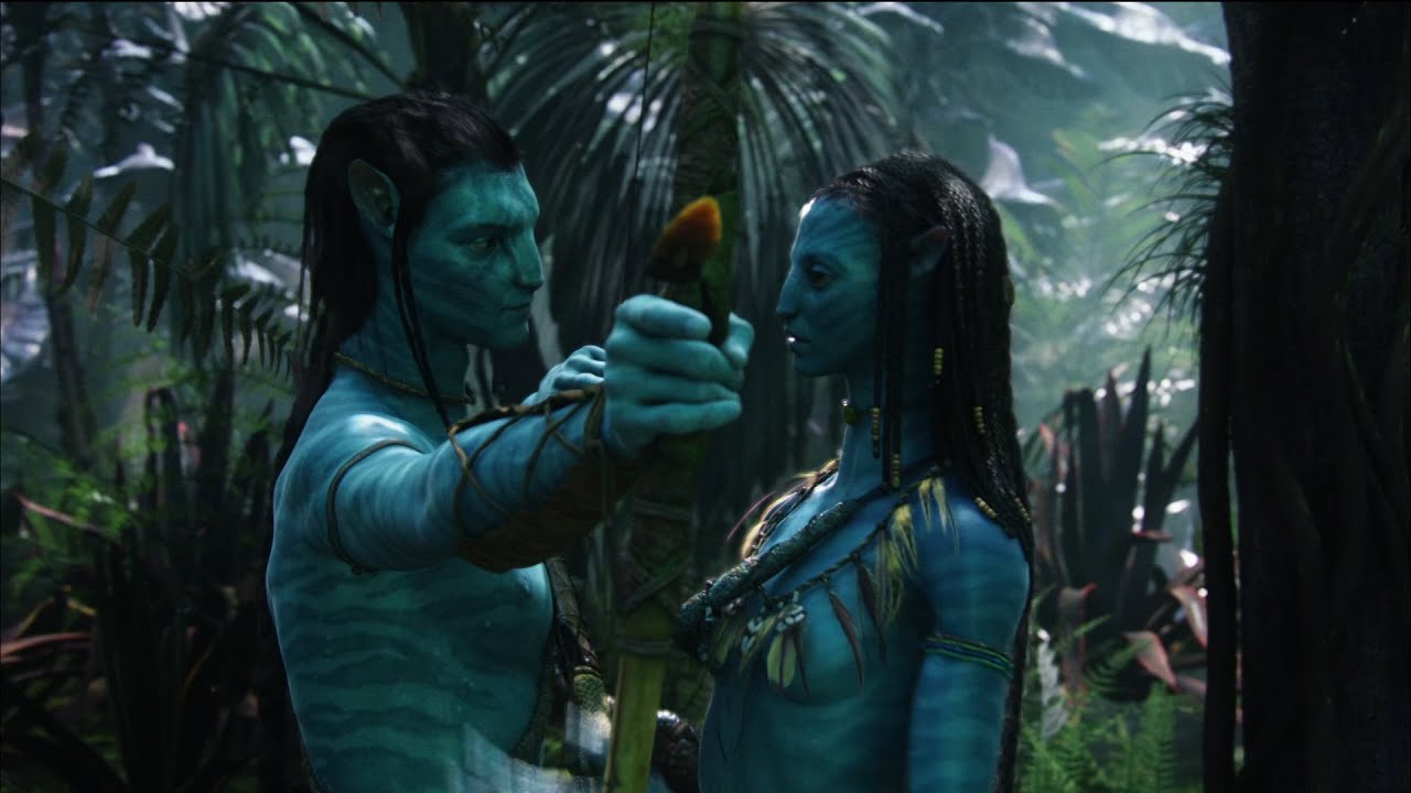 Download Avatar (2009)   Jake Learning From Neytiri   31kash Movie Clips