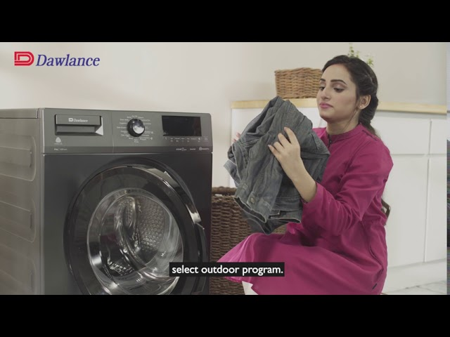 Dawlance Steam Care Washing Machine | Ask Dawlance Program Settings