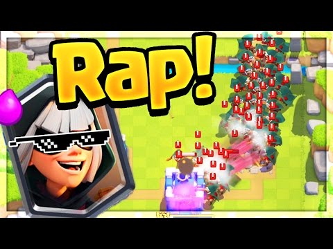 TRY Not to CRINGE 'Challenge' - Clash Royale Bandit RAP!