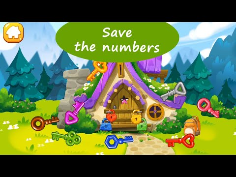 Save The Numbers - Find The Missing Numbers And Learn How To Count From 1 To 10 |  Counting Games